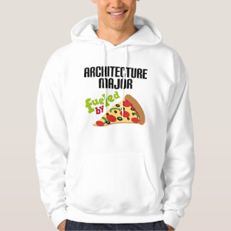 Architecture Major Gift (Pizza) Hooded Sweatshirts