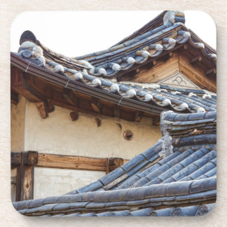 Architecture Of Bukchon Hanok Village Coaster