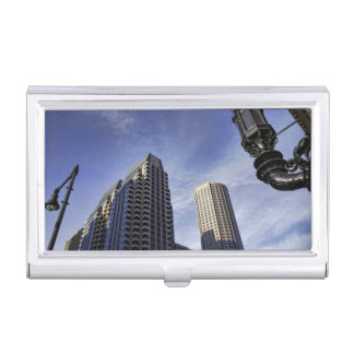 Architecture of downtown Boston Business Card Holder