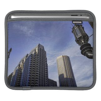 Architecture of downtown Boston iPad Sleeve