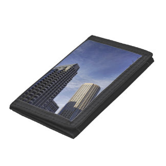 Architecture of downtown Boston Tri-fold Wallet