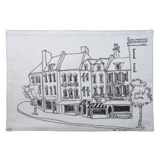 Architecture of Saint-Omer, France Placemat