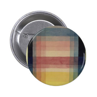 Architecture of the Plain by Paul Klee 6 Cm Round Badge