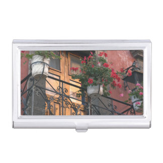 Architecture on the streets of San Miguel de Business Card Holder