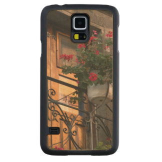 Architecture on the streets of San Miguel de Carved Maple Galaxy S5 Case
