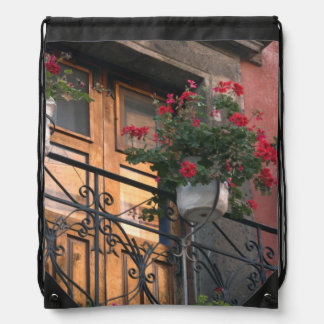 Architecture on the streets of San Miguel de Drawstring Bag
