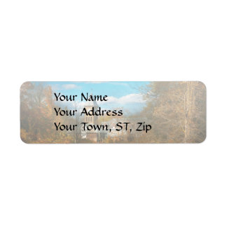Architecture - The university Return Address Label