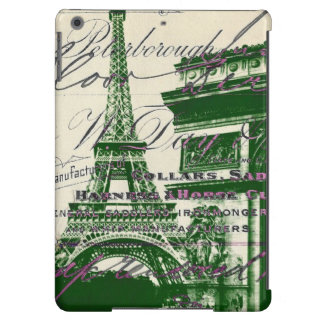 architecture victory gate paris eiffel tower cover for iPad air