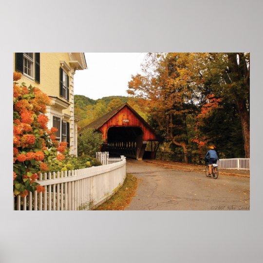 Architecture - Woodstock, VT - Entering Woodstock Poster