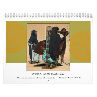 Archival 2009 AZCA Faces Of The Sahel Calendar