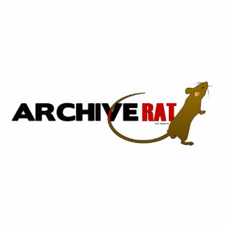 Archive Rat (no archive box) Standing Photo Sculpture