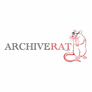 Archive Rat (Version 1) Standing Photo Sculpture