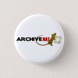 Archive Rat (Version 2) 3 Cm Round Badge
