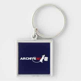 Archive Rat (Version 2) Key Ring