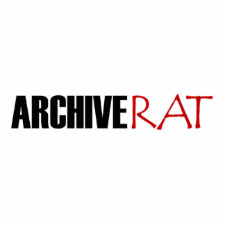 Archive Rat (Version 3) Standing Photo Sculpture