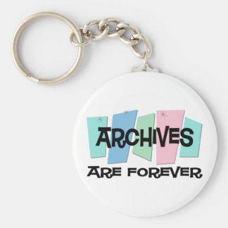 Archives Are Forever Key Ring