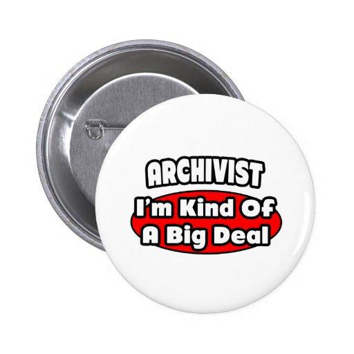 Archivist ... Big Deal Button