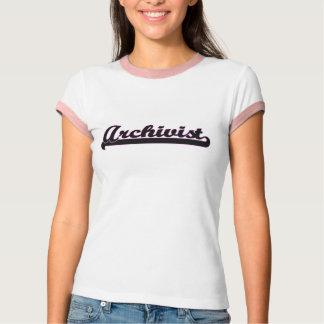 Archivist Classic Job Design T-Shirt