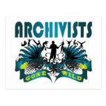 Archivists Gone Wild Postcard