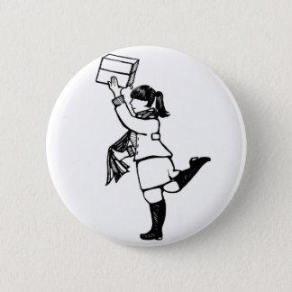 Archivists Rule 6 Cm Round Badge