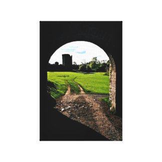 Archway in Ireland Canvas Print