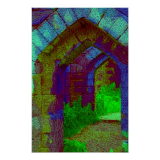 archways, Through The Past Poster