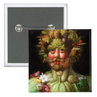 Arcimboldo Rudolf II Button
