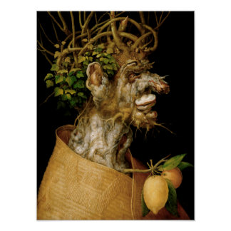 Arcimboldo Winter Poster