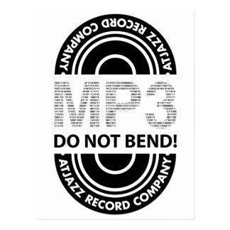 ARCo MP3 DO NOT BEND Postcard