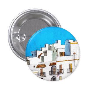 Arcos de la Frontera Spain 3 Cm Round Badge