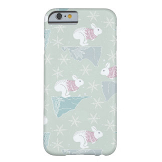 Arctic Animals in Space Barely There iPhone 6 Case