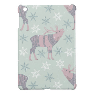 Arctic Animals in Space iPad Mini Cases
