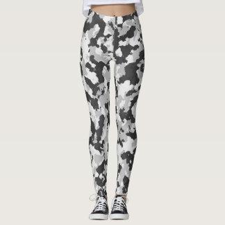Arctic Camouflage Full Print Leggings