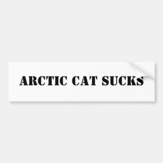 ARCTIC CAT SUCKS BUMPER STICKER