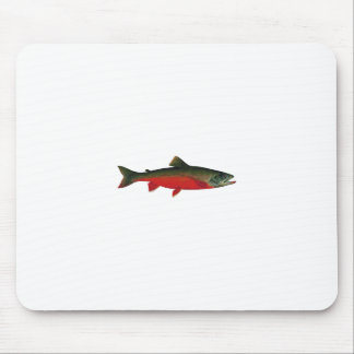 Arctic Char Illustration Mouse Mat