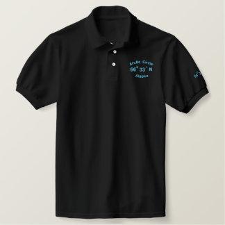 Arctic Circle, Alaska, 66, 0, 33, ', N Embroidered Polo Shirt