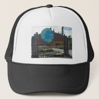 arctic circle, DALTON HIGHWAY ALASKA Trucker Hat