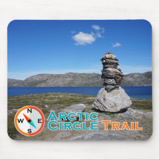 Arctic Circle Trail Mousepad Horizontal