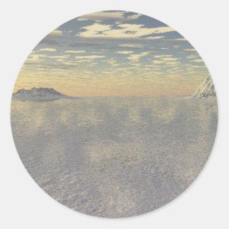 Arctic Cover Classic Round Sticker