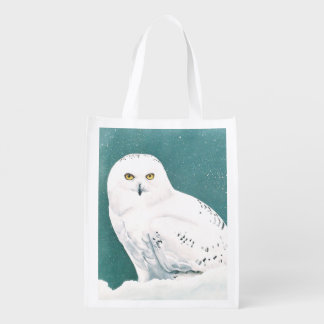Arctic Eyes Reusable Grocery Bag