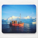arctic fishing mousepad
