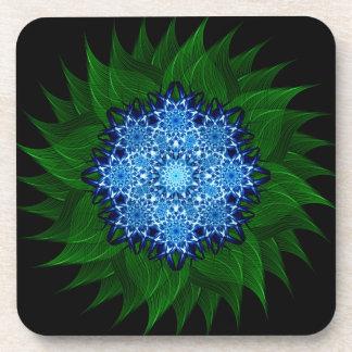 Arctic Flower Mandala Coasters
