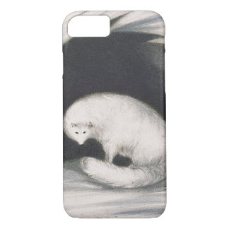 Arctic Fox, from 'Narrative of a Second Voyage in iPhone 8/7 Case