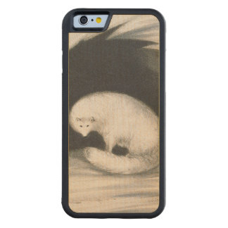 Arctic Fox, from 'Narrative of a Second Voyage in Maple iPhone 6 Bumper Case