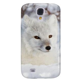Arctic Fox in winter Galaxy S4 Case