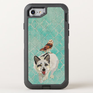 Arctic Fox & Owl OtterBox Defender iPhone 7 Case