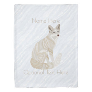 Arctic Fox Retro Chic Home Decor Animal Theme