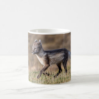 Arctic Fox Running Coffee Mug