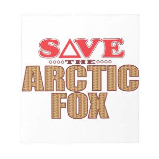 Arctic Fox Save Notepad
