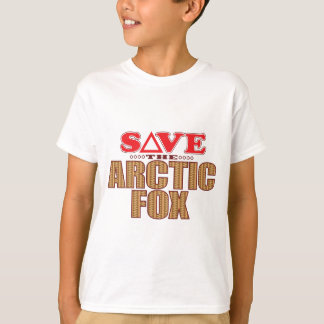 Arctic Fox Save T-Shirt